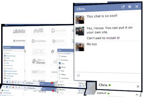 اسکریپت چت ArrowChat v1.5.11