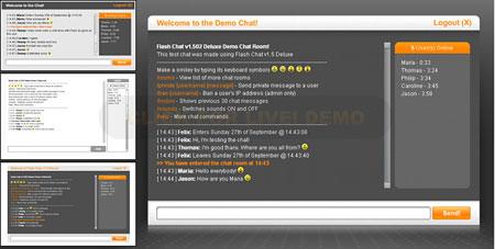 دانلود اسکریپت چت روم فلش Flash Chat